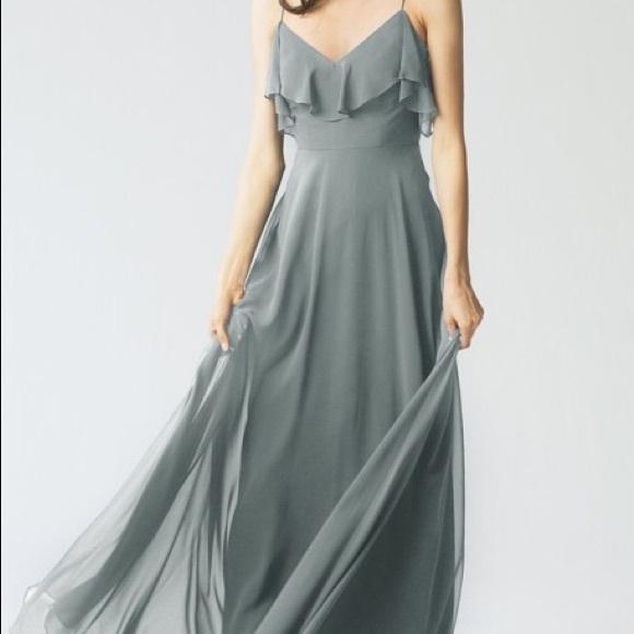 f3e40747d4 Jenny Yoo Dresses   Skirts - Jenny Yoo Bridesmaid Dress in Denmark Blue